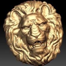 Lion tête art 3D impression modèle 3D impression fichier 3D imprimable modèle 3D impression conception 3d impression Lion tête