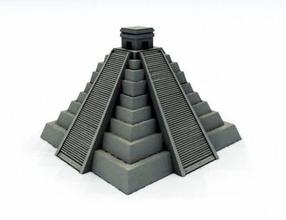 mayan pyramid architecture 3D printing model, 3D printing file, 3D printable model, 3D printing design, 3d print, pyramid, mayan, aztec, historical, mexico
