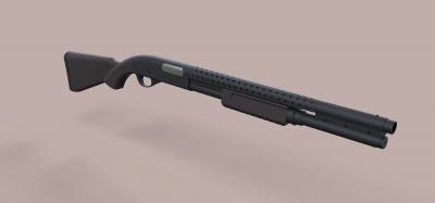 remington 870 film terminator 3 giochi dei giocattoli & hobby La stampa 3D, modello, file di stampa 3D, 3D stampabile modello, la stampa 3D, la progettazione, la stampa 3d, pistola, fucile a pompa remington, terminator, arma, fucile, militare, replica, cosplay