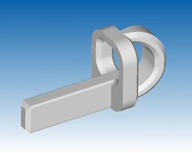socket opener bs 1363 three-pin plug tools & machines 3D printing model, 3D printing file, 3D printable model, 3D printing design, 3d print, Open, shutter, mechanism, middle, earth, connection, BS, 1363, three, pin, plug, us, uk