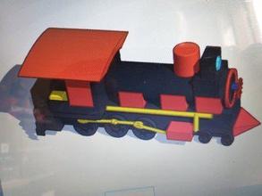 steam locomotive antiques & historical 3D printing model, 3D printing file, 3D printable model, 3D printing design, 3d print, STEAM LOCOMOTIVE,STEAM ENGINE, TRAIN, STEAM