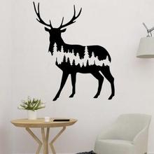 tree deer 2d wall art art 3D printing model, 3D printing file, 3D printable model, 3D printing design, 3d print, deer in tree, tree and deer, nature and animal, nature and forest, deer wall art, deer 2d, deer decor, deer decoration, deer