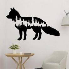 tree fox 2d wall art art 3D printing model, 3D printing file, 3D printable model, 3D printing design, 3d print, fox in tree, tree and fox, nature and animal, nature and forest, fox wall art, fox 2d, wolf, fox, decor, wolf decoration