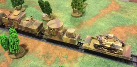 28 mm armoured train locomotive four car stls track system - wargaming3d 28mm miniature set stls 28mm wargaming set five car armoured locomotive removable roof armoured flat car armoured command troop transport car armoured flak car armoured gun car there weapon options including single light auto cannon quad light auto cannon soviet model 1939 heavy auto cannon generic design so fit equally soviet german polish bolt action force also included track system includes long straight piece short straight piece 225 degree curve piece railroad crossing piece mates road system have available free download wargaming3d damaged track piece track pieces mate together updated free supplementary track pack containing files left right y rail junctions has been uploaded separately due size file https wwwwargaming3dcom product 28mm-rail-track-system-supplementary-y-track-junctions 04 april 2020