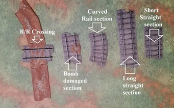 28mm railway track system - track only - wargaming3d 28mm miniature complete file 28mm railway track system five different interconnected rail system short long track piece well 225 degree curve r r crossing interconnects road system available free download site damaged track piece represent attack railway these files meant fdm printing updated free supplementary track pack containing files left right y rail junctions has been uploaded separately due size file https wwwwargaming3dcom product 28mm-rail-track-system-supplementary-y-track-junctions 04 april 2020