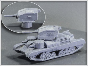 a9 cruiser mki - wargaming3d 28mm miniature re-mix a9 cruiser tigerace's early war pack i've added some track pins guides beefed up rivets print more reliably fdm added sockets allow turret magnetized turret plug has been separated turret allow them printed straight print bed i've found gives me cleanest straightest bottom edges there turret versions both 2 pdr gun tan 37 close support tank hull provided two forms one whole other split fore aft printed vertically i've found best print hull turrets separately cura give turrets line supports support roofs enabled hull printed tree supports 2019-07-03 added built-in supports problem area split-hull stl