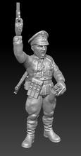 german officer flash - wargaming3d 28mm miniature german officer flash