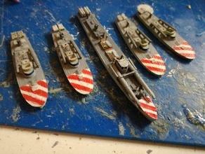 italian motor torpedo boats mas-boats 60-ton crda 1 300 - wargaming3d 28mm miniature italian motor torpedo boats mas-boats 60-ton crda 1 300 - wargaming3d 28mm miniature