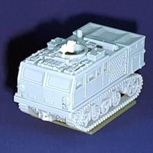 m4 hst clase - wargaming3d 28mm en miniatura m4 de alta velocidad del tractor de la clase entró en servicio en 1942 basado obsoletos m3 chasis de la unidad de tren capaz de remolque algunos más pesado de la artillería americana 50-ametralladora de calibre conferir algunos cubierta de la tripulación