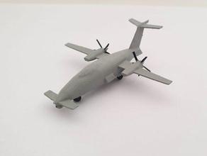 piaggio p-1hh uav - wargaming3d 28mm em miniatura modelo novo uav drone projetado piaggio aeroespacial isr missões operado forças aéreas, itália, emirados árabes unidos