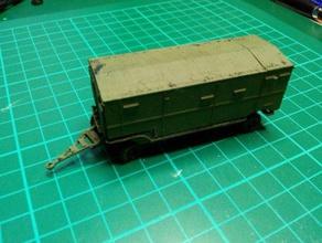 s-75 guideline control trailers - wargaming3d 28mm miniature 1 100 model av uv trailers used snr-75 radar guideline s-75 missile system