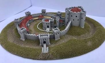sandalia castillo wargaming3d 28mm miniatura sandalia castillo wargaming3d 28mm miniatura