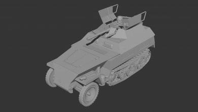 sdkfz 250 9 neu - wargaming3d 28mm miniature sdkfz 250 9 neu - wargaming3d 28mm miniature