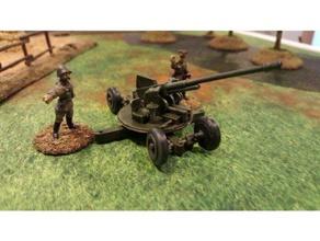 soviet model 1939 37mm aa gun - wargaming3d 28mm miniature 28mm model red army's 37mm aa gun model 1939 has been optimized fdm printing