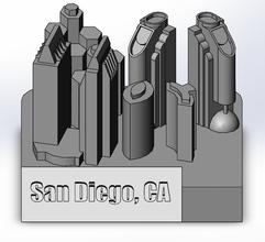 downtown san diego ca art california city san diego