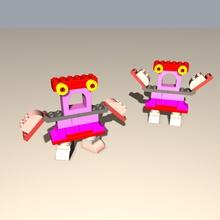 duplo robot family - grandma toys duplo family grandma robot robot toy