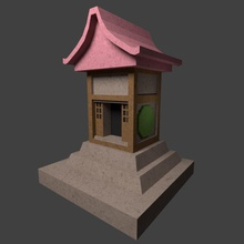 japanese shrine miniature toys architecture display hokora japanese architecture japanese shrine miniature shinto shrine toys