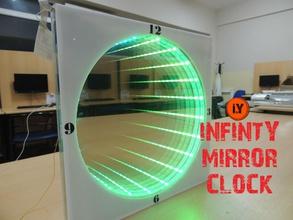 make infinity mirror education arduino at24c32 arduino ds1302 ds3231 make infinity mirror infinity infinity mirror infinity mirror clock mirror clock neopixel rtc wall clock