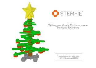 Stemfie escritorio Navidad árbol juguetes Stemfie escritorio Navidad árbol juguetes