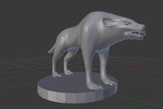 fiend hound heck miniatures hell hound hell demon devil hound wolf dog pet guard dungeons dragons dungeons & dragons dungeons dragons dnd d&d tabletop gaming wargaming pathfinder