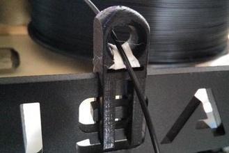 filamento guía rail 3d impresora partes mejoras guía rail filamente guía rail filamente prusa hephestos bq prusai3