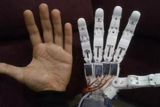 finger prototype lad robotic hand gadget robotic robotics prosthetic prosthetic hand mechanism robotic hand