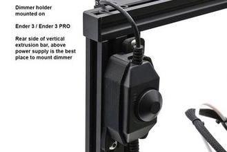Costa Golfo robótica conduziu luz obscuro interruptor suporte 3d impressora partes melhorias conduziu luz iluminação ender ender3 ender5 cr10