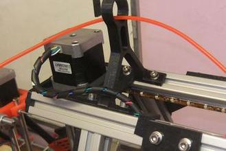 mendelmax filament guide 3d printer parts enhancements filament guide guide mendelmax