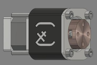 nema 14 harmonic drive gadget fusion360 fusion 360 step stepper motor harmonic reduction reducer planetary gear gearmotor harmonic drive squared tile