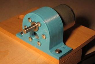 pololu 37d motor bracket 3d printer parts enhancements pololu 37d gearmotor motor bracket mount