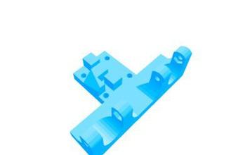 rostock style printable u-joint carriage kossel & mini kossel 3d printer parts enhancements kossel mini kossel kossel carriage kossel printable carriage & effector joints kossel universal joint mini kossel rostock style u-joint kossel v-slot carriage