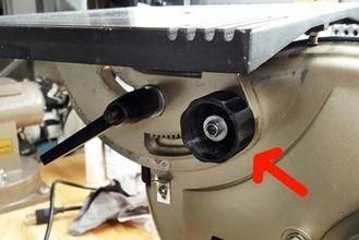 ryobi bs90108300 - table angle adjustment knob replacement  angle adjustment knob band ryobi bs901 replacement knob replacement parts table adjustment bs90108300