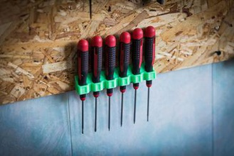 screwdriver holde wall mount your home 3didea hand hand tool hand tools screwdriver screwdriver holder tool holder wall wall mount