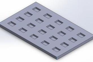 smd tray pnp 42 x 57 mm 20 times maker diy pnp pnp tray smt tray qfn tray smd tray