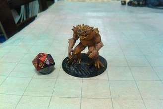toad demon miniatures hezrou demon devil fiend tabletop rpg dnd d&d dungeons dragons dungeons & dragons pathfinder gaming wargaming roleplaying fantasy smartshell abyss shell smart shell nagelschelle battery shell rohrschelle smart shell taco shell holder hell