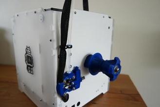 um2go - um2 low friction spool holder 3d printer parts enhancements um2 um2 upgrade um2 extended um2go spool filament spool holder filament roll labern