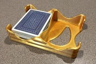 wellig-Karte Fach - dual-deck-Spielkarten-Halter. Spiele. spielen Karten. Brettspiel. poker. canasta. Brücke. verwerfen. vegas. geräuschvoll. Karte einlegen.